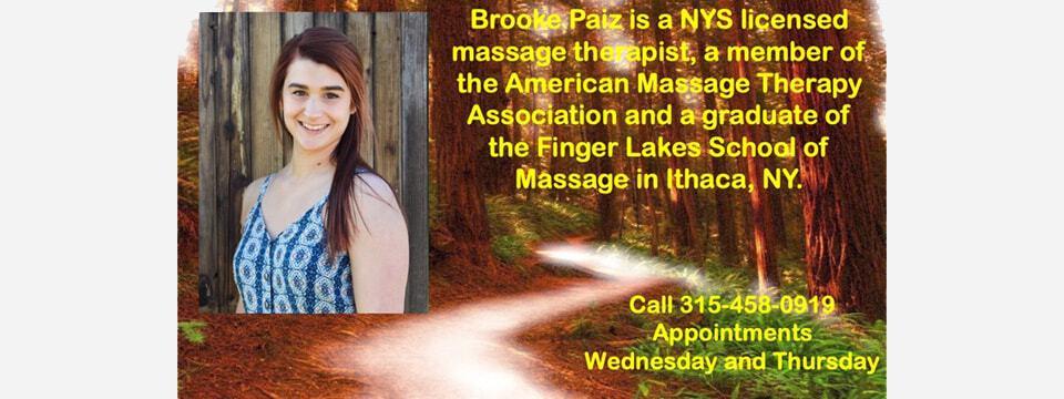 brooke paiz massage therapist